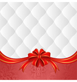 white and red background vector image vector image