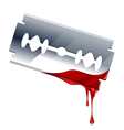Blade with blood vector | Price: 1 Credit (USD $1)