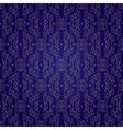 Floral vintage seamless pattern on violet backgrou vector image vector image