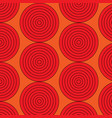 graphic circles seamless pattern vector image vector image