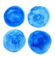 hand painted circular watercolor texture vector image vector image