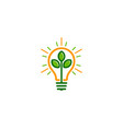 nature idea logo icon design vector image