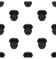 paintball mask icon in black style isolated on vector image