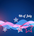 style 4th of july vector image