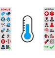 Temperature Icon vector image vector image
