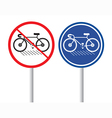 Bicycles Signs vector image