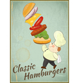 Big Burger vector image