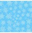 Snowfall background vector image