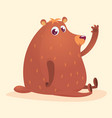 229bear vector image vector image