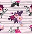 beautiful seamless pattern with half-colored vector image vector image