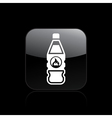 danger bottle icon vector image vector image