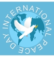 Peace Day vector image