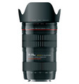 professional zoom lens vector image vector image