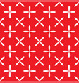 Seamless abstract grid art white red pattern