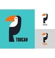 Tropical bird toucan vector image vector image