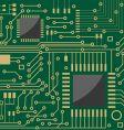 microcircuit vector image