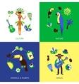 Brazil Design Concept vector image