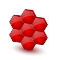 Honeycomb icon vector image