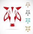 image cow head vector image vector image