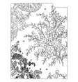 manufacture of figured fabrics this check is a vector image vector image
