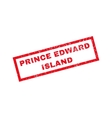Prince Edward Island Rubber Stamp vector image vector image