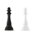 Queen chess piece vector image