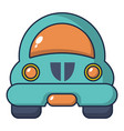toy car icon cartoon style vector image