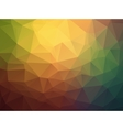 Triangle retro colorful background vector image vector image
