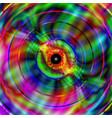 vivid and vibrant vague pattern vector image vector image