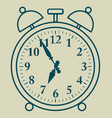 alarm clock an emergency wake-up device at a vector image vector image