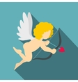Amur or Cupid icon flat style vector image vector image