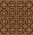 beautiful motifs art work on kawung batik design vector image vector image