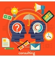 Consulting Concept vector image