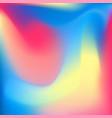 iridescent colored pastelmesh background vector image