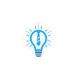 job idea logo icon design vector image