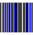 Pattern with vertical gray blue and white stripes vector image vector image
