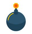 phishing bomb icon isometric style vector image vector image