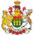 Saskatchewan Province vector image vector image