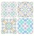 set retro seamless patterns graphic elements vector image vector image