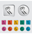 skipping rope icon vector image