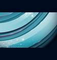 abstract circle shape layers background vector image
