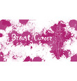 breast cancer day disease awareness prevention vector image