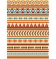 Ethnic indian pattern Aztec navajo vector image