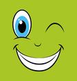 fun expression facial vector image vector image