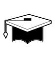 graduation cap icon image vector image vector image