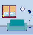 home living room vector image