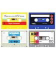 Plastic cassette tape