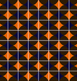 Retro tiles seamless pattern background vector image