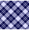seamless plaid pattern in pale blue dark navy blue vector image vector image