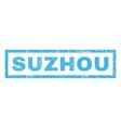 Suzhou Rubber Stamp vector image vector image